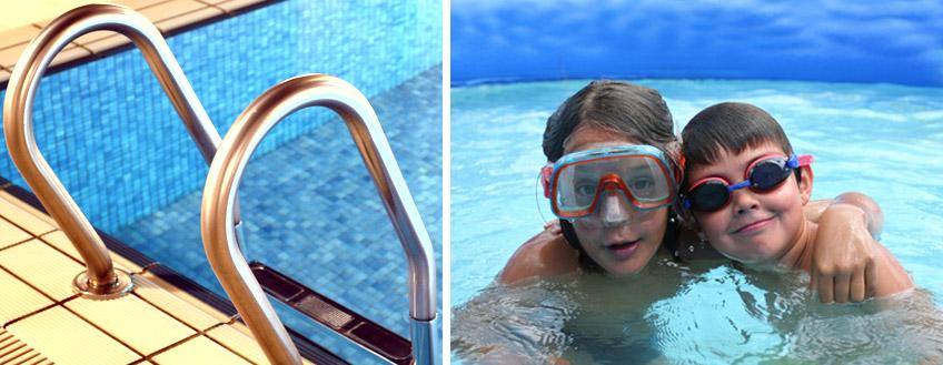 bannière piscine